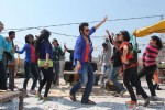Jackky Bhagnani Dancing 'Gangnum Style' on the sets of 'Rangrezz' Pic 3