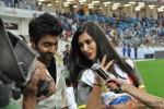 Jackky Bhagnani and Nargis Fakhri at CCL 3 Dubai and Ranchi Match
