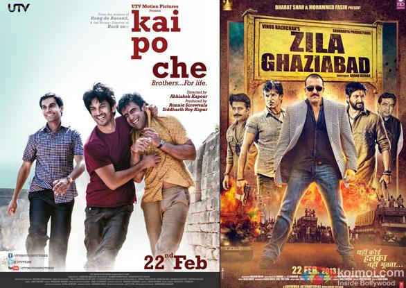 Kai Po Che and Zila Ghaziabad Movie Poster