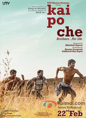 Kai Po Che Review (Kai Po Che Movie Poster)
