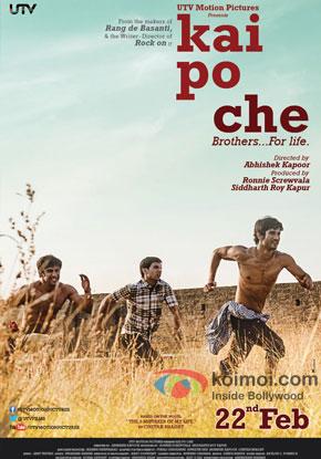 Kai Po Che! Movie Poster