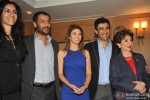 Rageshwari Loomba with Amit Sadh and Abhishek Kapook Team of Kai Po Che! announces 15th Terry Fox Run Pic 2