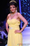 Kajal Aggarwal walks the ramp at IIJW