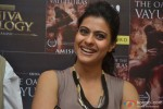 Kajol launches the book 'The Oath Of The Vayuputras'