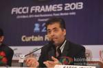 Karan Johar At Announcement of FICCI Frames 2013 Pic 4