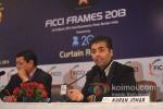 Karan Johar At Announcement of FICCI Frames 2013 Pic 3