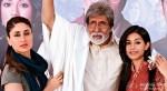 Kareena Kapoor, Amitabh Bachchan and Amrita Rao in Satyagraha Movie Stills