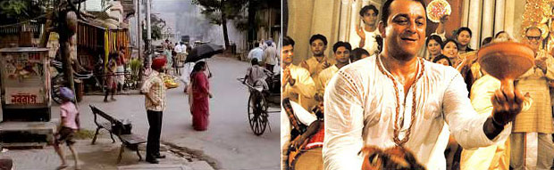 Still from Love Aaj Kal and Parineeta Movie