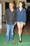 Mahesh Bhatt And Alia Bhatt at Murder 3 Special Screening