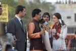 Manoj Bajpai and Kareena Kapoor in Satyagraha Movie Stills