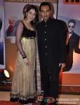 Marc Robinson with wife Waluscha D'Souza at 'Hindustan Times Mumbai's Most Stylish 2013' Awards