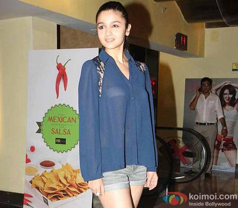 Alia Bhatt at Murder 3 Special Screening