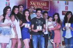 Evelyn Sharma, Gaelyn Mendonca, Kunaal Roy Kapur, Pooja Salvi, Ayushmann Khurrana, Bhushan Kumar and Divya Khosla Kumar at Music Launch of film 'Nautanki Saala'