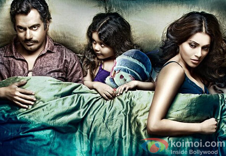 Nawazuddin Siddiqui And Bipasha Basu in Aatma movie Poster