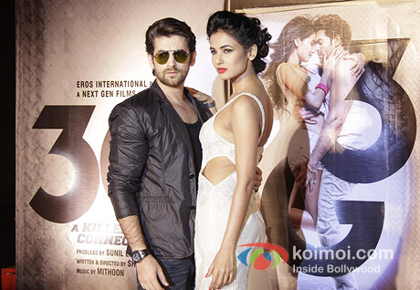 Neil Nitin Mukesh and Sonal Chauhan at music and trailer showcase of their film 3G