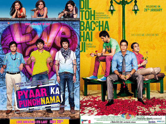 Pyaar Ka Punchnama and Dil Toh Baccha Hai Ji Movie Poster
