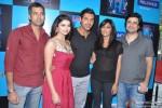 Prachi Desai, John Abraham, Chitrangada Singh and Goldie Behl Promoting 'I, Me Aur Main' Movie at Reliance Web World Centre