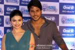 Prachi Desai and Sundeep Krishna at Oral B Smile India Campaign Launch Pic 1