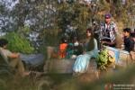 Priyanka Chopra shoots for 'Gunday' in Kolkata