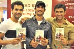 Raj Kumar Yadav, Sushant Singh Rajput and Amit Sadh At 'The 3 Mistakes Of My Life' Book Launch Pic 2