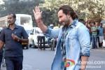 Saif Ali Khan shoot for 'Bullet Raja' in Kolkata Pic 1