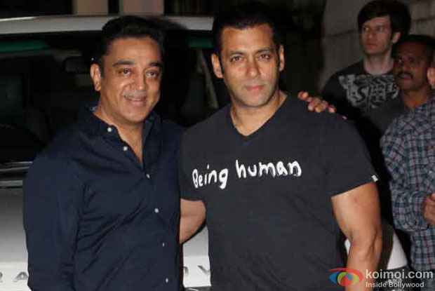Kamal Haasan and Salman Khan