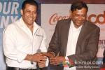 Salman Khan And T. Krishnakumar at the launch of partnership of 'Career Development' Pic 2