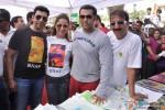 Sahil Nagi, Rouble Nagi, Salman Khan and Baba Siddiqui at Rouble Nagi's art camp Pic 1
