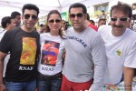 Sahil Nagi, Rouble Nagi, Salman Khan and Baba Siddiqui at Rouble Nagi's art camp Pic 2