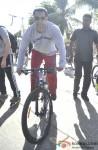 Salman Khan at a Cycling event at Carter Road Pic 1