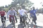 Salman Khan at a Cycling event at Carter Road Pic 2