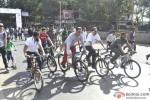 Salman Khan at a Cycling event at Carter Road Pic 3