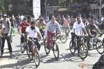 Salman Khan at a Cycling event at Carter Road Pic 4