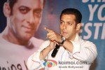 Salman Khan at the launch of partnership of 'Career Development' Pic 1