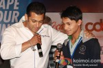 Salman Khan at the launch of partnership of 'Career Development' Pic 4