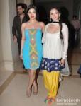 Sarah Loren And Aditi Rao Hydari At Murder 3's Music Success Bash