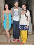 Sarah Loren, Randeep Hooda, Aditi Rao Hydari At Murder 3's Music Success Bash Pic 1