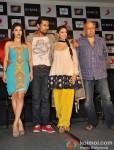 Sarah Loren, Randeep Hooda, Aditi Rao Hydari, Mahesh Bhatt At Murder 3's Music Success Bash