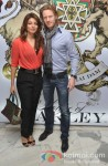 Shama Sikander And Alexx O Nell at the 'House of Marley' launch