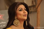 Shilpa Shetty on the sets of 'Nach Baliye 5' Pic 1