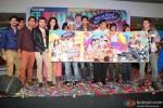 Siddharth, Divyendu Sharma, Taapsee Pannu, David Dhawan and Ali Zafar at Music Launch of Film Chashme Baddoor
