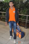 Siddharth Jadhav with CCL Team Veer Marathi returns from Ranchi