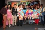 Siddharth, Taapsee Pannu, Divyendu Sharma, David Dhawan and Ali Zafar at Music Launch of Film Chashme Baddoor