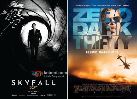 Skyfall and Zero Dark Thirty Movie Poster