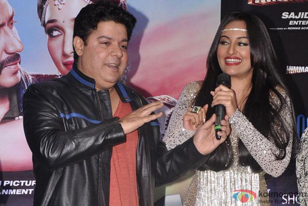 Sajid Khan and Sonakshi Sinha