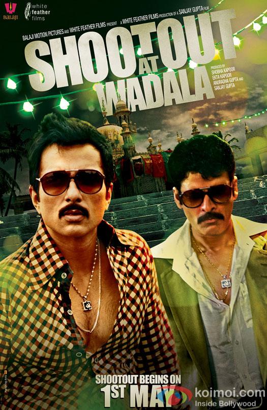 Sonu Sood and Manoj Bajpai in Shootout At Wadala Movie Poster