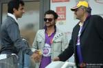 Sou Sood, Sanjay Kapoor and Boney Kapoor at CCL 3 Dubai and Ranchi Match