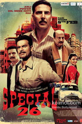 Special Chabbis (26) Movie Poster