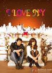 Sunny Deol and Kangana Ranaut in I Love NY (New Year) Movie Poster 1