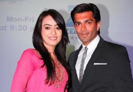 Surbhi Jyoti And Karan Singh